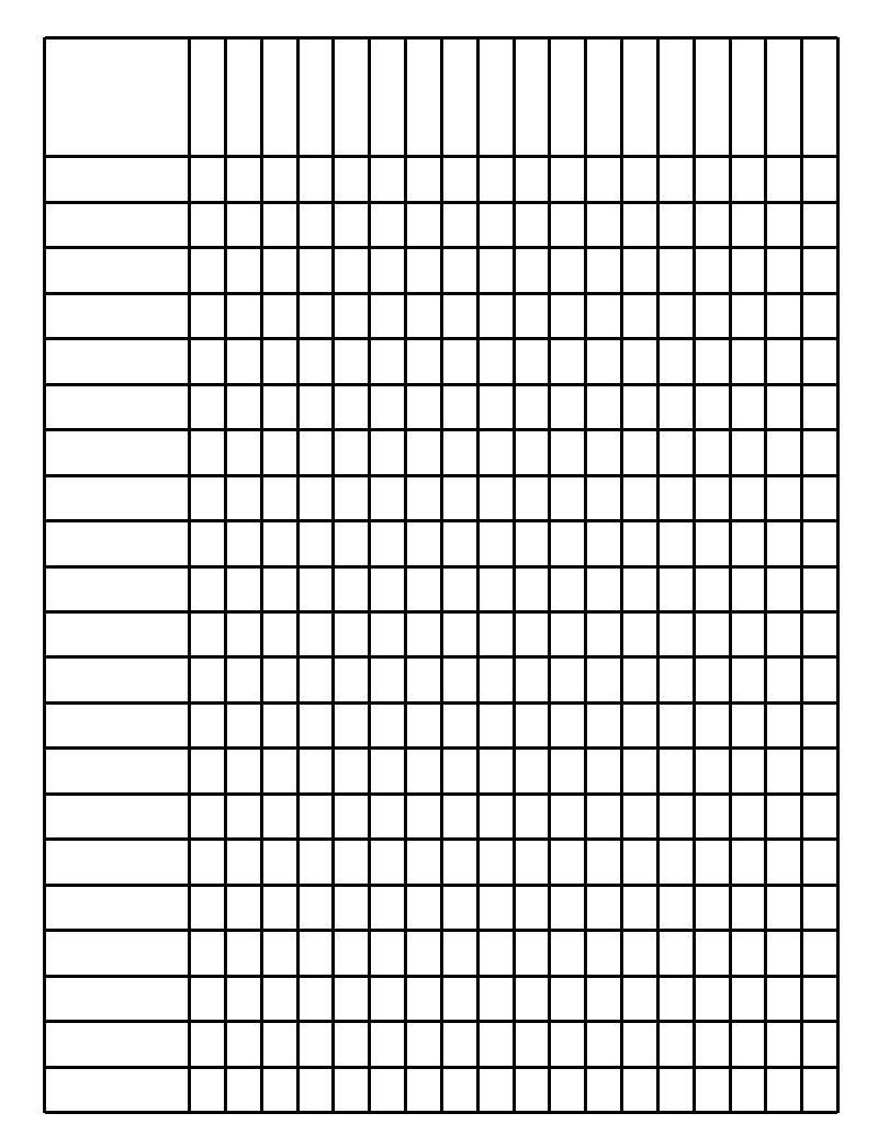 blank checklist form template .