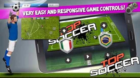 Top Soccer Android Futbol Oyunu resimi