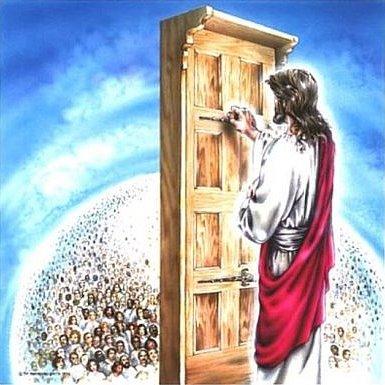 Tudo conectado jesus bate porta do seu cora o para for Jesus a porta