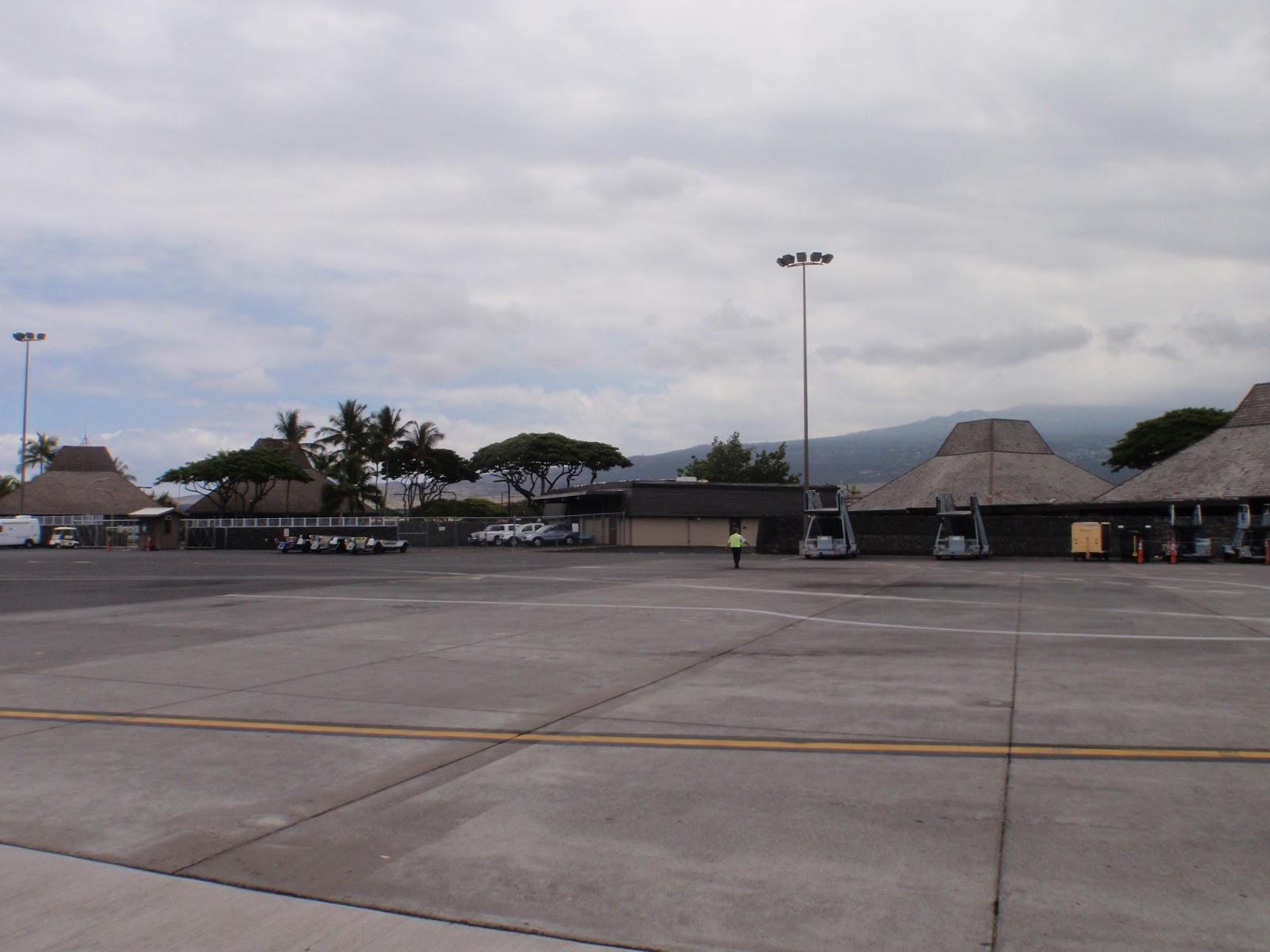 Hawaii Big Island Kona Airport