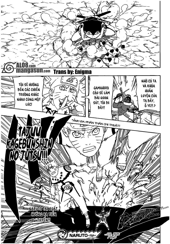 Naruto chap 545 Trang 16 - Mangak.info