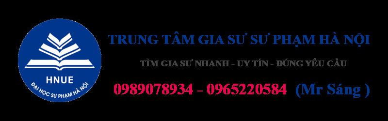 Trung tâm gia sư sư phạm Hà Nội