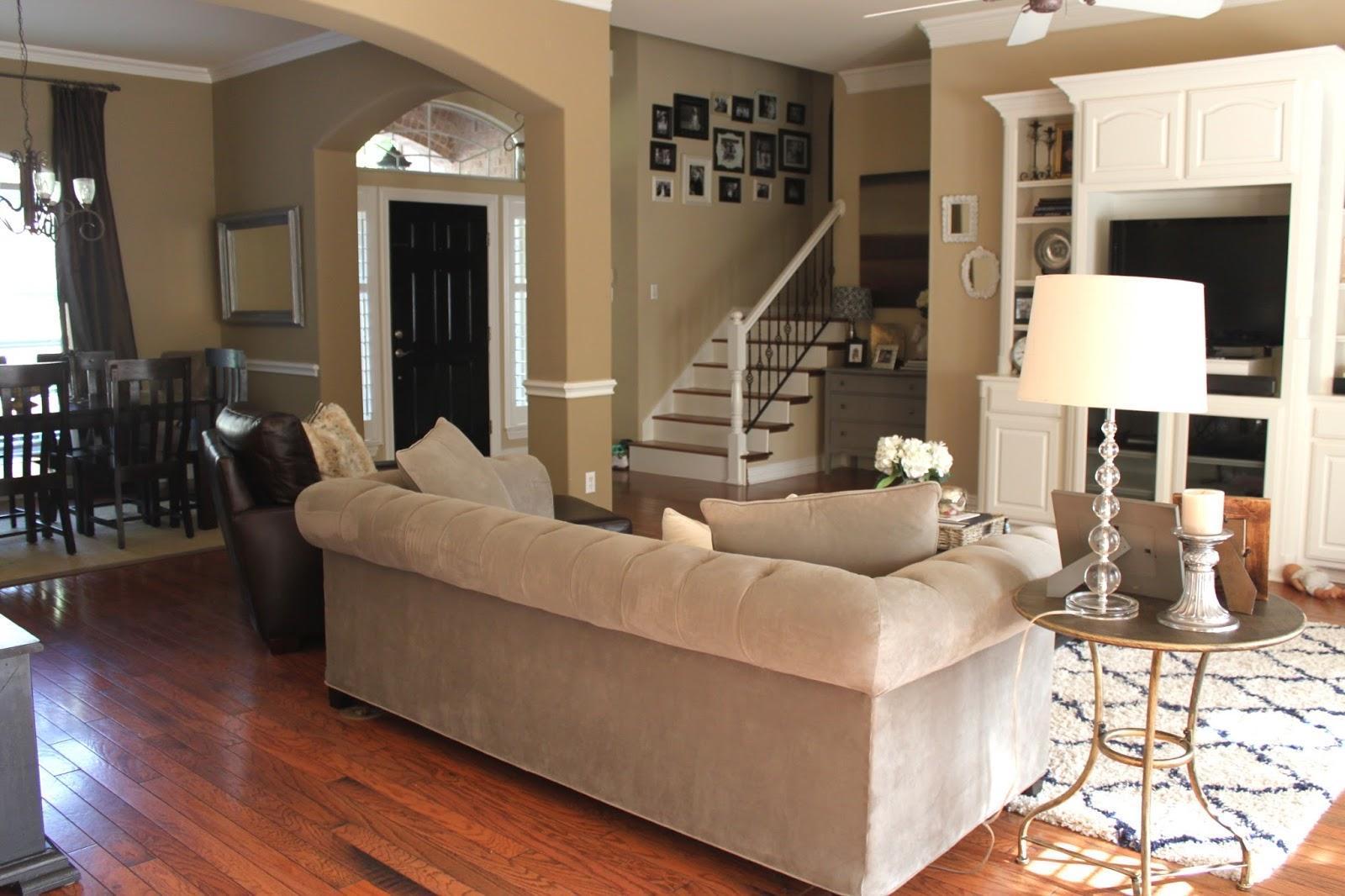 crafty texas girls home decor update open concept floor
