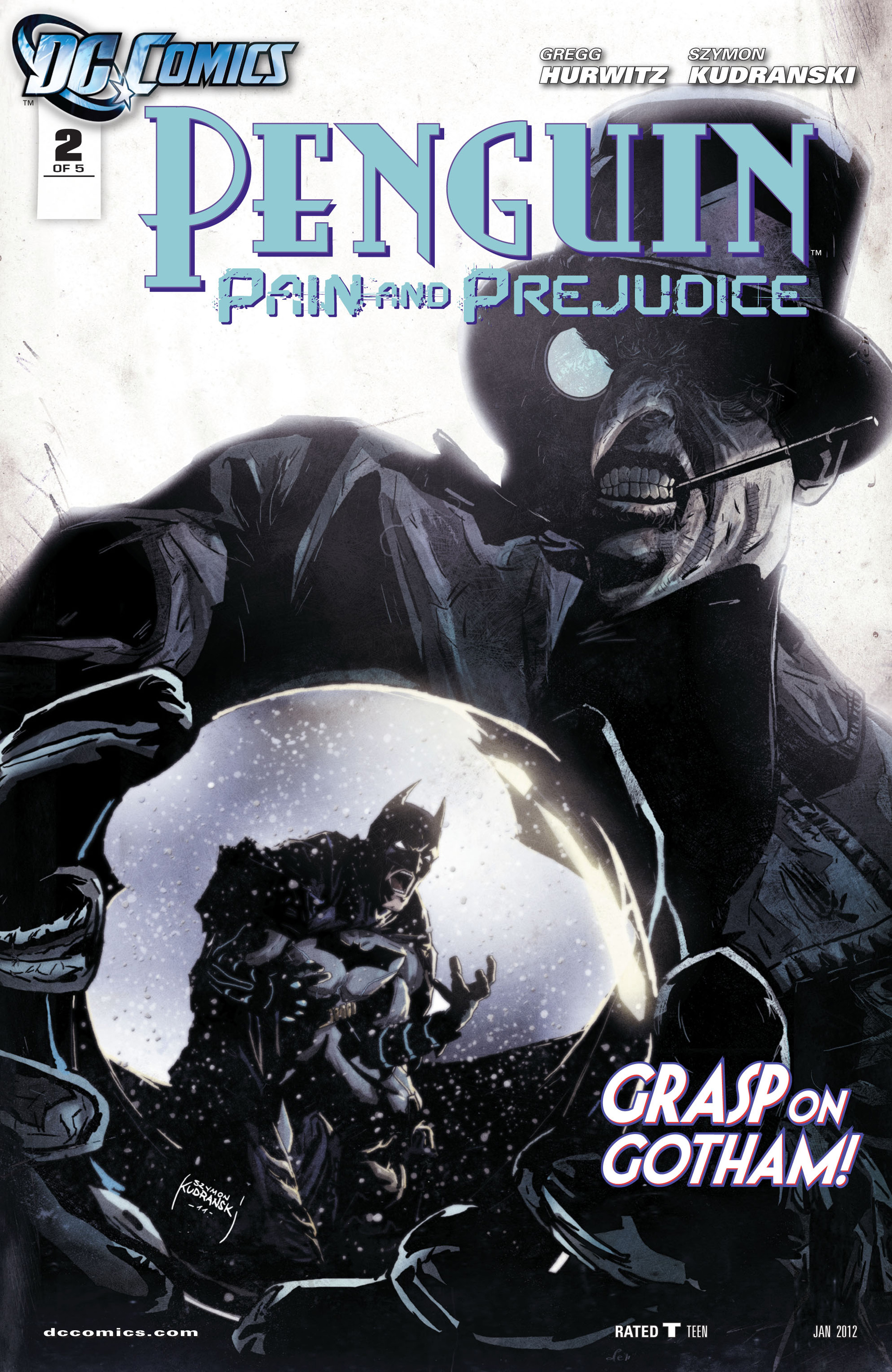 Penguin: Pain & Prejudice issue 2 - Page 1
