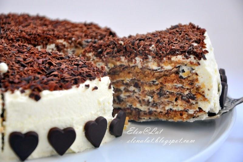Рецепт шоколадно ореховых коржей для торта