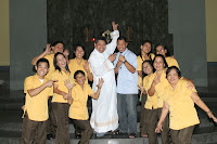 Campus Catechists with Fr. Dudz and Fr. Toto