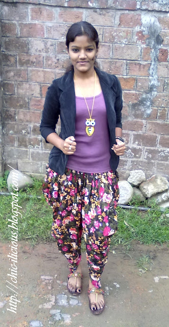 Pretty in Print with Dhoti Pant. image