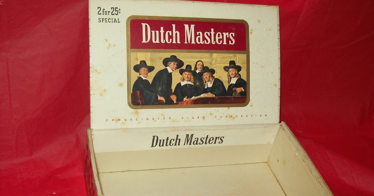 Diaries Of A Collectaholic Vintage Dutch Masters Cigar Box