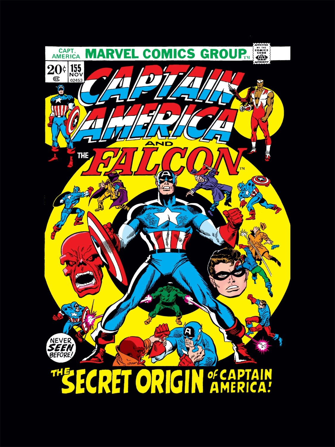 Captain America (1968) Issue #155 #69 - English 1