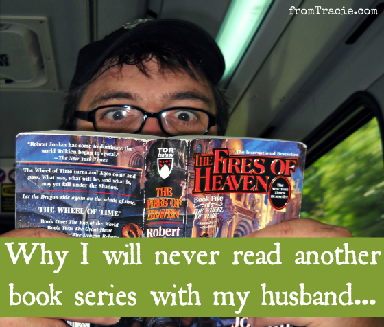 Final Picture: Why I Will Never Read Books Series With My Husband