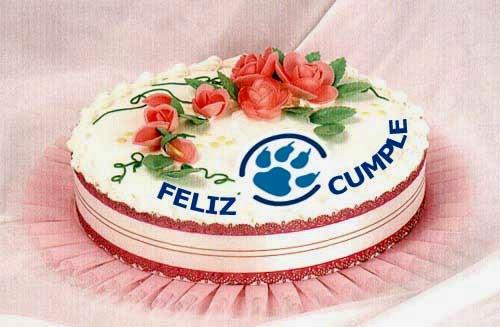 Tarjetas de Cumpleaños con Tortas, parte 1