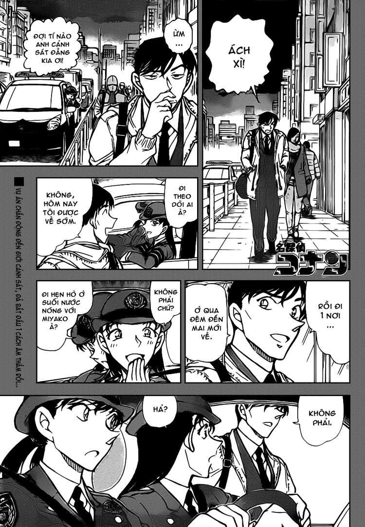 Detective Conan - Thám Tử Lừng Danh Conan chap 804 page 1 - IZTruyenTranh.com