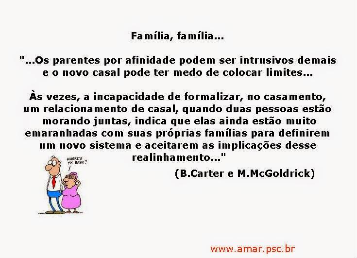 Família, família...