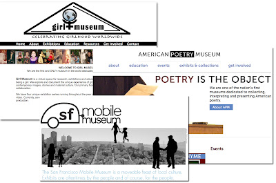 san francisco mobile museum, american poetry museum, girl museum
