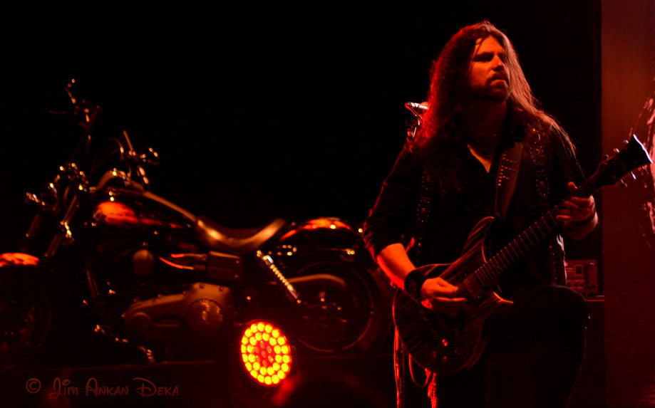 Simon Johansson of Wolf at Harley Rock Riders Season 3, Bangalore - Jim Ankan photography