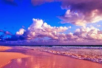 pink beach filipina