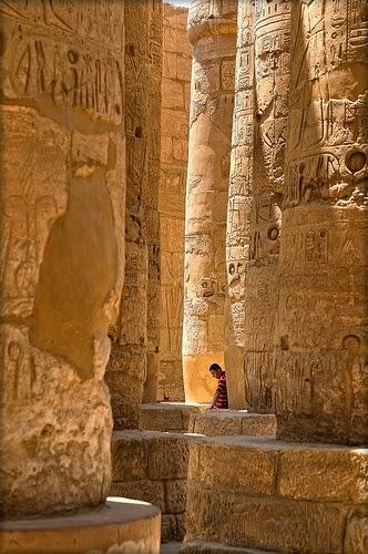 Templo de Amón en Karnak, Luxor, Egypt