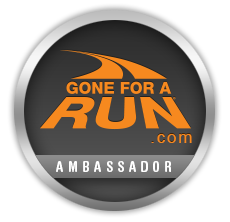 Glad to be a Gone For a Run Ambassador!