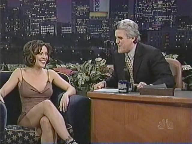 Alyssa Milano Pissing On Jay Leno Talkshow - vPorncom