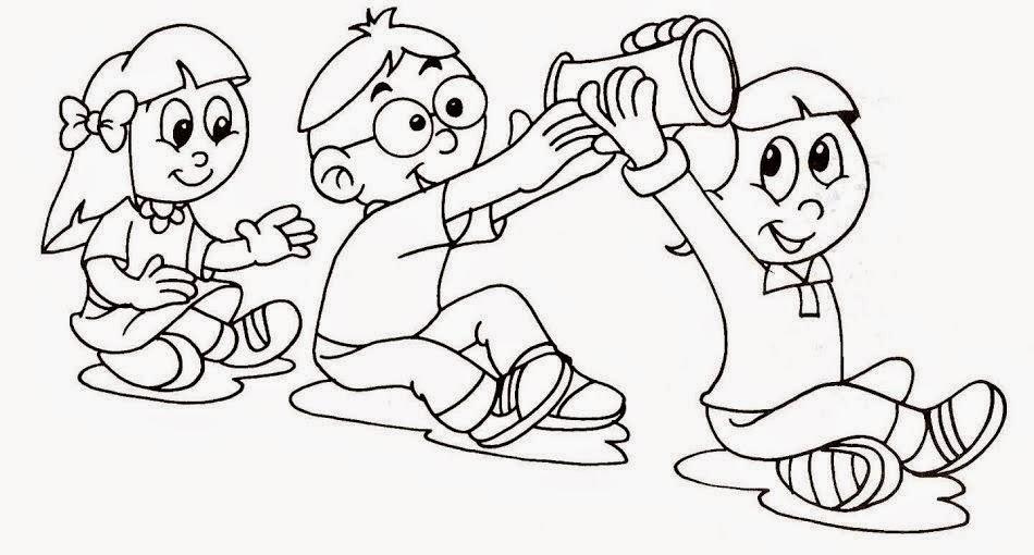 Único Páginas Interactivas Para Colorear Para Niños Pequeños Molde ...