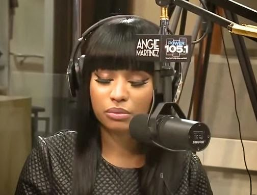 Nicki Minaj Emotional Breakdown During Interview About Recent Breakup