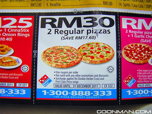 Dominos december coupons