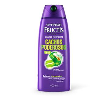 Shampoo Garnier Fructis linha Cachos Poderosos