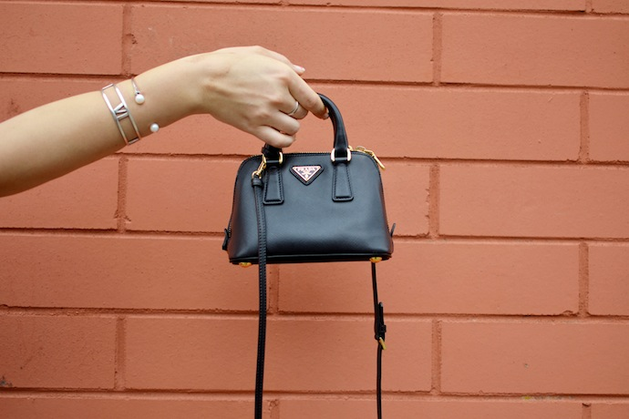 Prada Saffiano Mini Promenade handbag