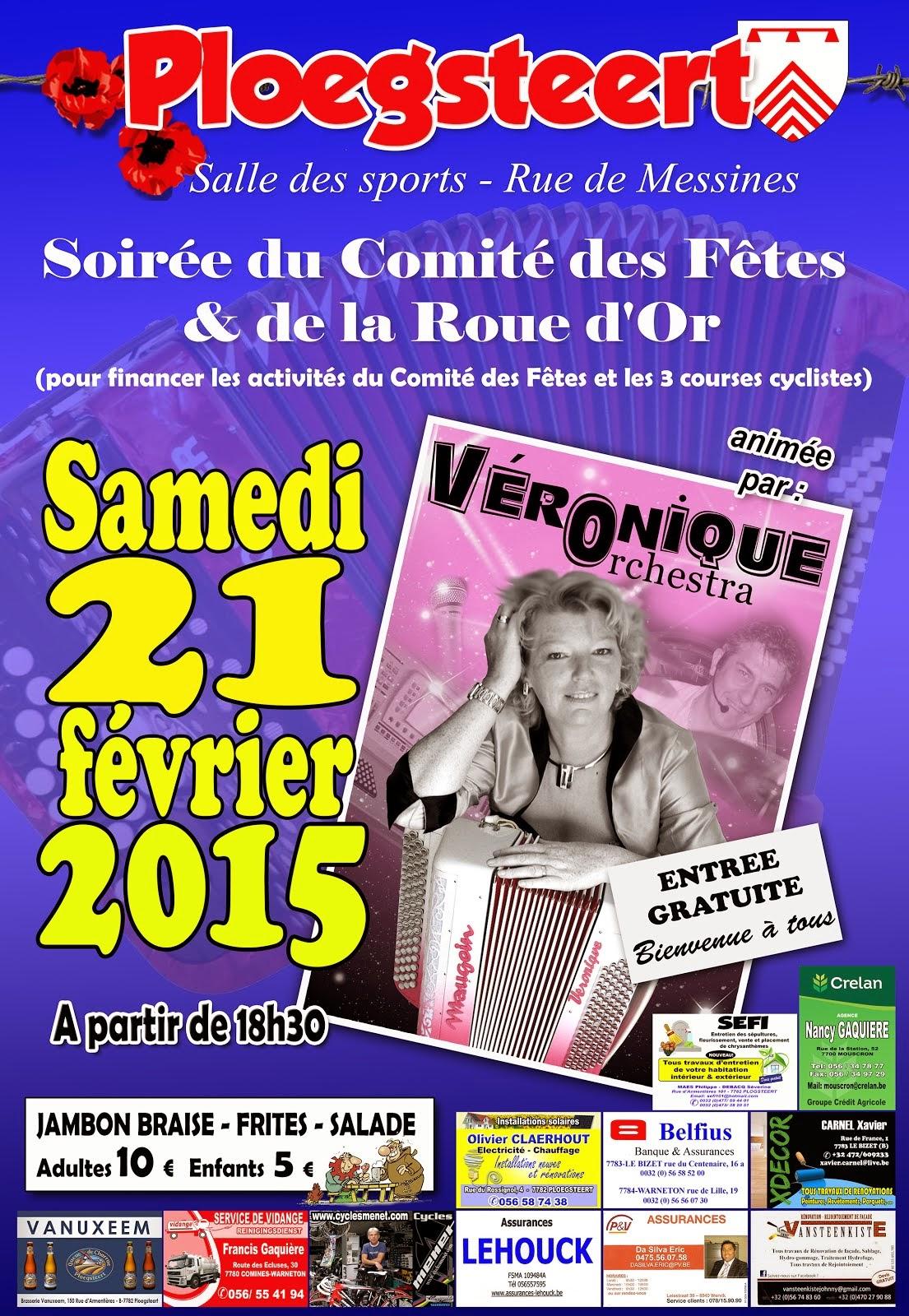 21 Février 2015 Soirée du Comité des Fêtes et de la Roue d'Or