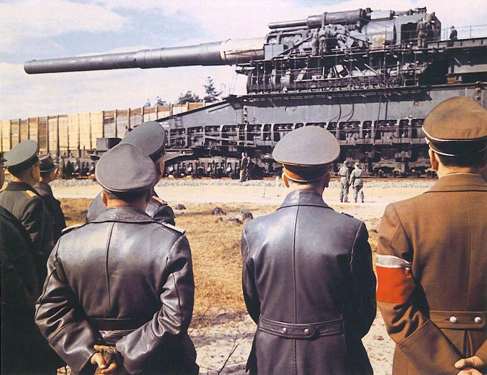 Senjata Terbesar Di Dunia Ternyata Pernah Dibuat Nazi Jerman