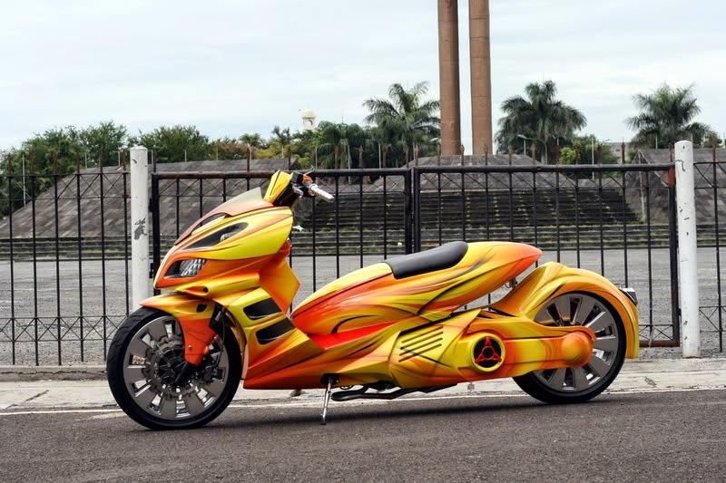 Modifikasi Honda Beat Ala Thailand