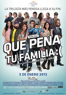 Que Pena Tu Familia (2013) Online