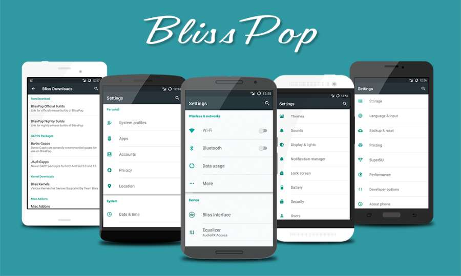 Blisspop rom for Moto G 2013 falcon ,XT-1032-XT-1033