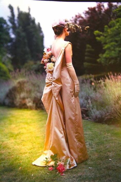 A Flower Girl for Vogue Magazine