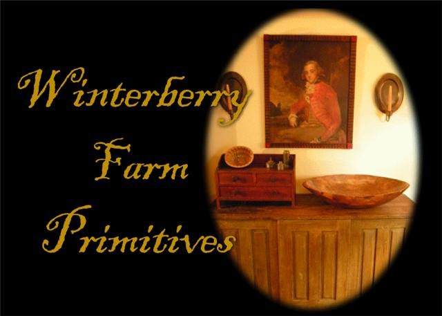 WINTERBERRY FARM PRIMITIVES SHOP BLOG