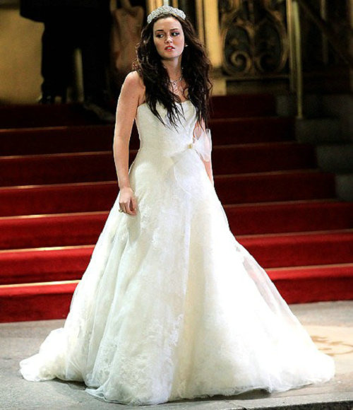 Celebrities 39 wedding dresses best 3 vera wang celebrity for Wedding dress blair waldorf