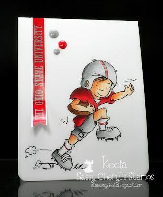 Sassy Cheryl's, Cheryl Grant, Kecia Waters, Ohio State, Buckeyes, football, Copic markers