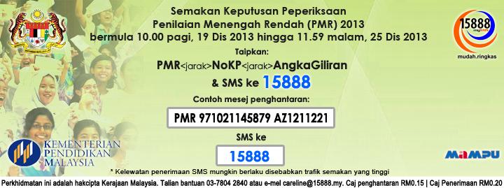 Result PMR 2013
