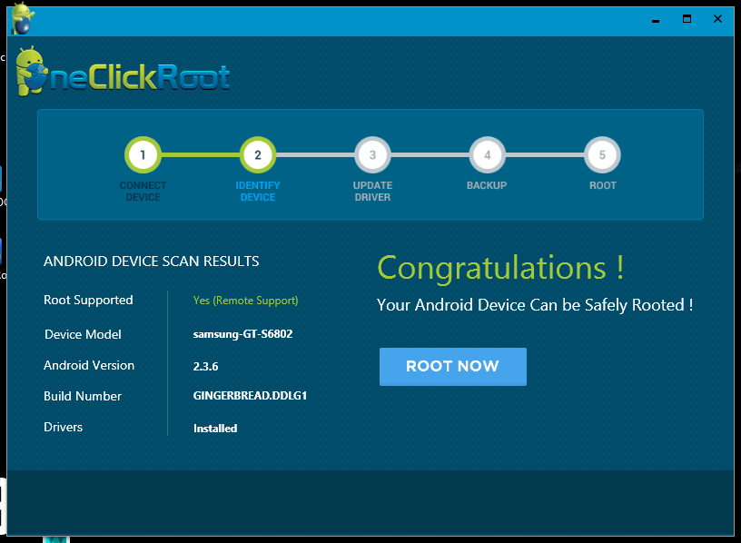 Root] How to root your Android using one click root ~ goteck