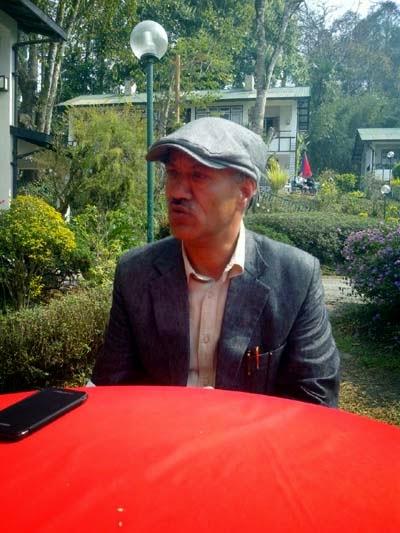 Kalimpong MLA and Gorkha Janmukti Morcha (GJM) spokespersons Dr. Harka Bahadur Chettri