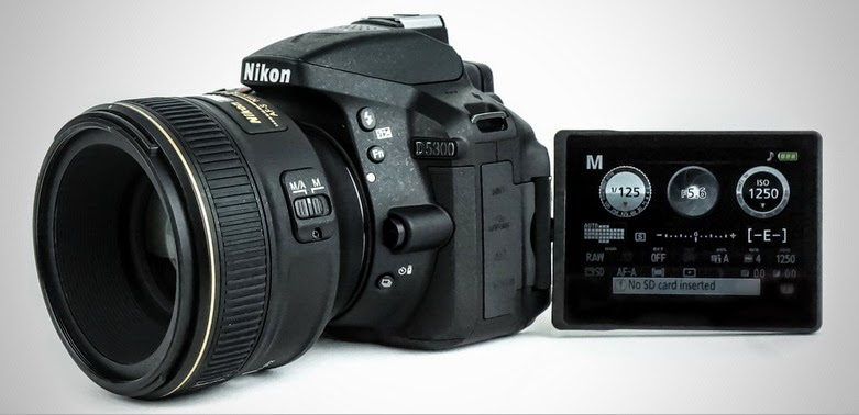 spesifikasi kamera nikon dslr d5300