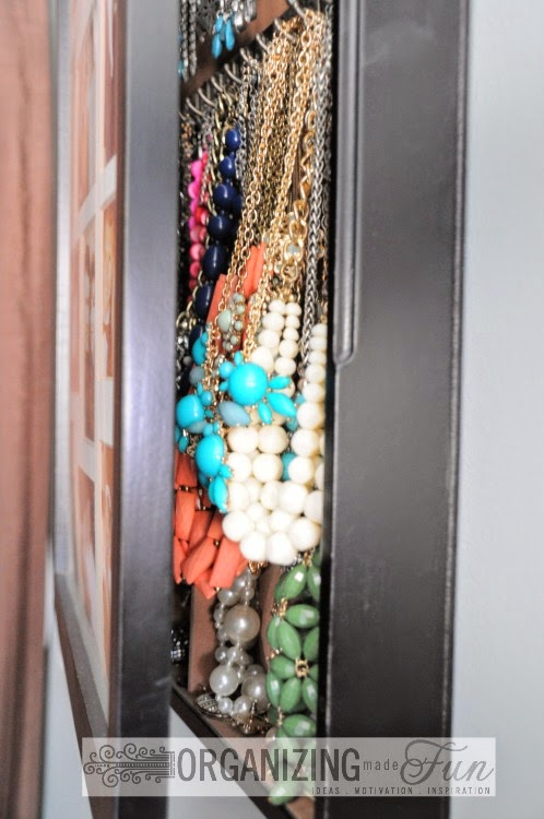 Problem: Chunky Necklaces don't fit :: OrganizingMadeFun.com