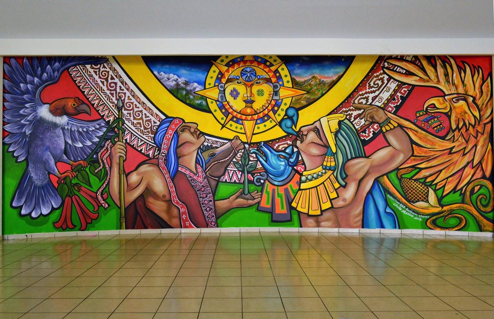 Cronista de nezahualc yotl se llevar a cabo el encuentro for Arte mural mexicano