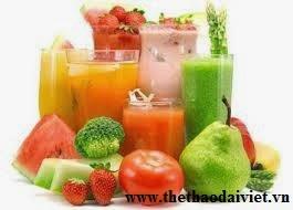 Nước trái cây giúp giảm cân