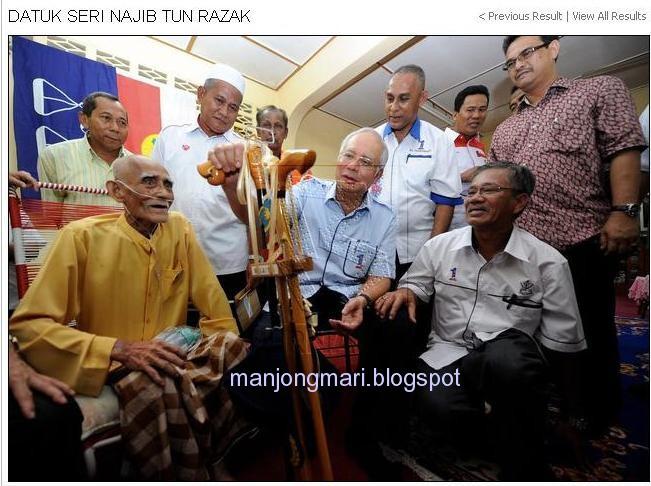 Manjung Mari: Panass.. DS Najib jauh tertinggal di belakang TS ...
