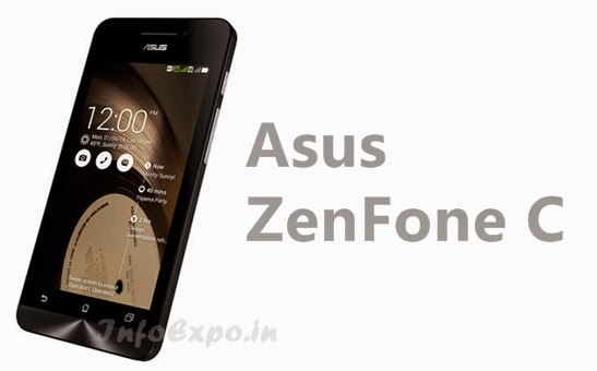 Asus ZenFone C:4.5 inch,1.2 GHz Dual-core Android Phone Specs, Price