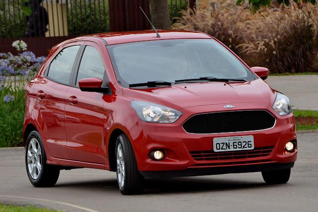 Novo Ford Ka hatch - vendas