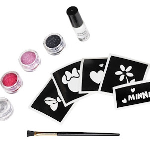 Disney Mickey Mouse Clubhouse Minnie Mouse Glitter Tattoo Kit