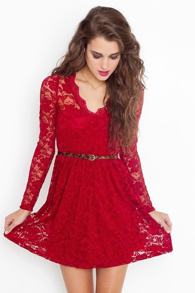 incre bles vestidos de encaje cortos moda 2014