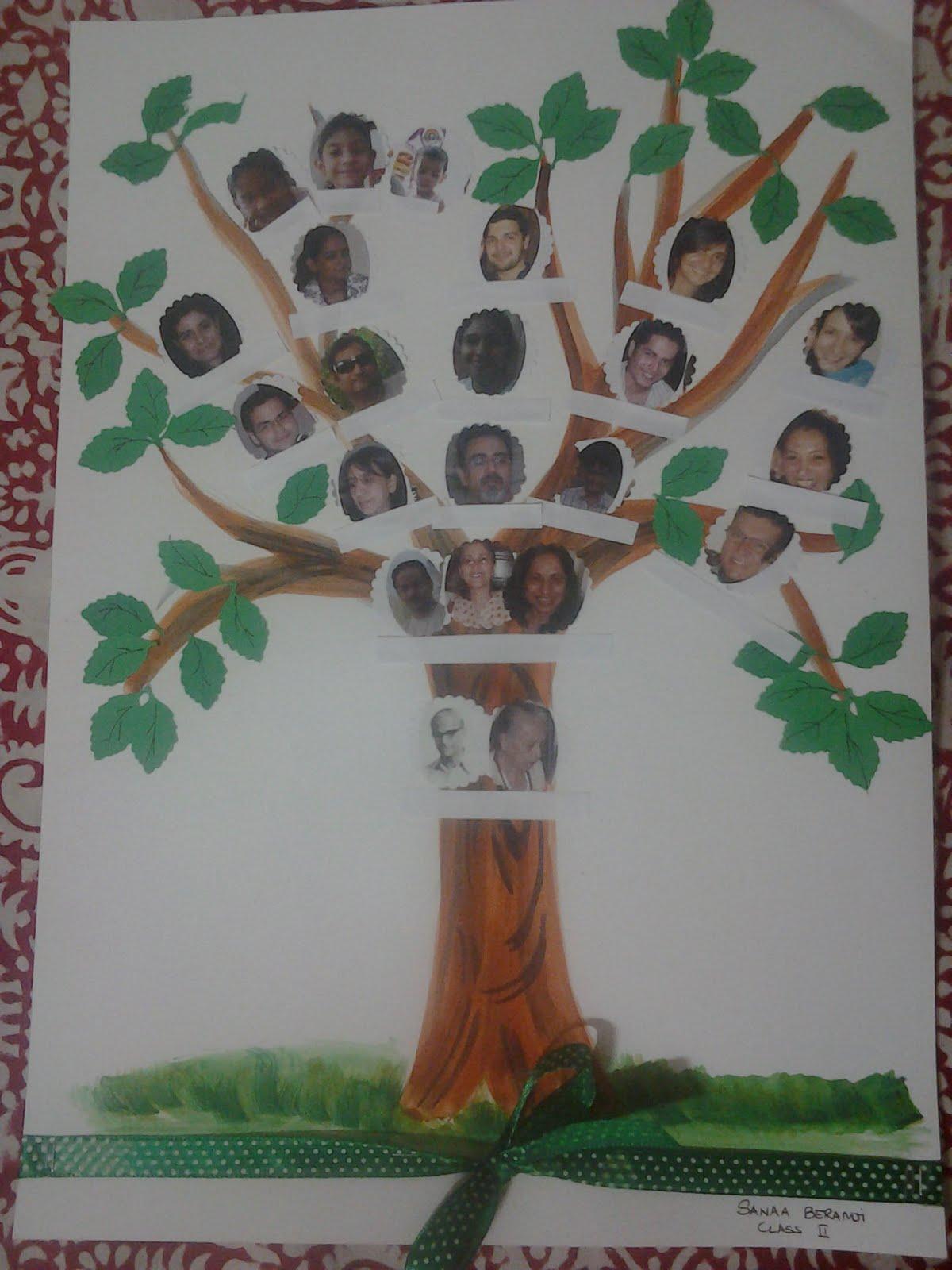family tree project ideas for school wwwimgkidcom